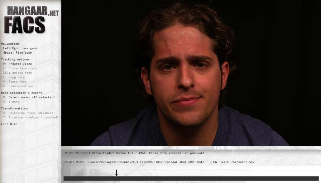 FACS: Facial Animation Coding System – Hangaar